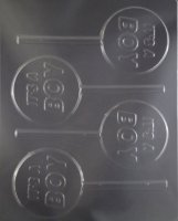 It's a Boy lolly Chocolate Candy Mold