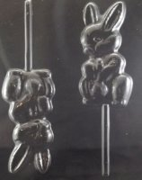 Bunny Holding Penis Adult Chocolate Candy Mold