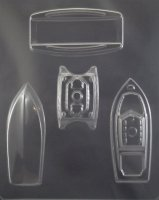 3-D Boat Chocolate Candy Mold