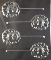 Baby Face and Bonnet Chocolate Candy Mold