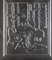 Candy is Dandy Plaque Adult Chocolate Candy Mold