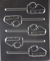 #1 Dad Lollipop Chocolate Candy Mold
