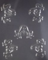 Action Couples Adult Chocolate Candy Mold