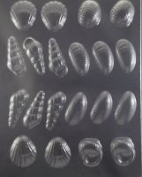 3-D Shells Chocolate Candy Mold