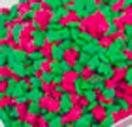 Mini Red and Green Trees Edible Decorative