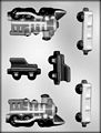 3-D Train Chocolate Candy Mold
