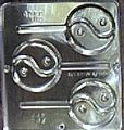 Ying and Yang Chocolate Candy Mold