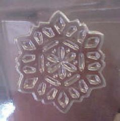 Large Snowflake Chocolate Candy Mold