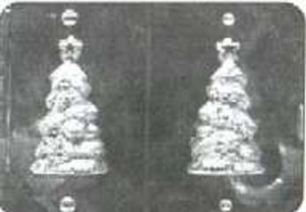 Christmas Tree Chocolate Candy Mold