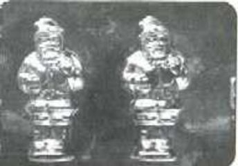 Santa Chocolate Candy Mold