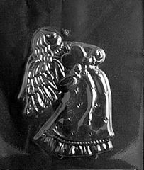 Victorian angel Chocolate Candy Mold