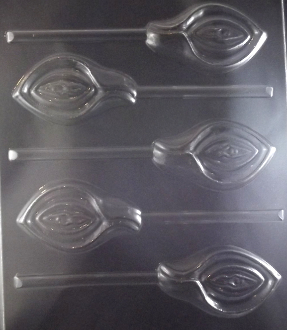 Vagina In Calla Lilly Lollipop Adult Chocolate Candy Mold
